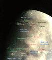 Някои от обектите по Луната ; comments:8