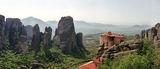 Метеора - панорама над Русанския манастир - фрагмент ; comments:10