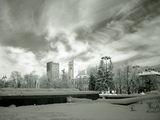 Зимен градски пейзаж в IR ; comments:17