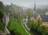 утринна мъгла в Люксембург ; comments:122