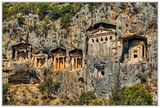 Каменните гробници край Каунос, в Турция ; comments:31