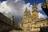 Катедралата в Сантяго де Компостела, Испания (този път през деня) ; comments:72