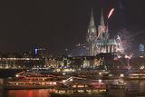 Кьолнската катедрала и Рейн на Нова Година 2007 ; comments:68