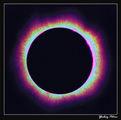99' Solar Eclipse  False Color Corona ; comments:8