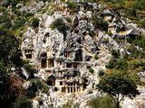Гробници в древния град Мира-Турция ; comments:40