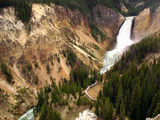 The Grand Canyon of Yellowstone river ; comments:27