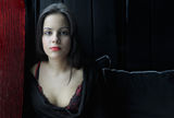 Гея - портрет с червени устни ; comments:44