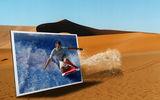 сърф в пустиня ; Comments:20