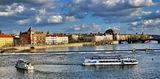 р. Валтава от карлов мост ; comments:62