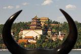 Между рогите. (Пекин, Летния дворец) ; comments:3