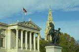 Виена- сградата на Парламента ; Comments:2