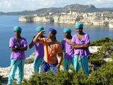 BOLLYWOOD film making in ...Bonifacio Corsica !!! ; comments:15