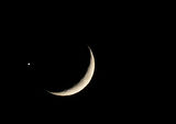 Окултация на Венера от Луната ; comments:24