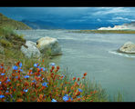 Lhasa River Tibet ; comments:50