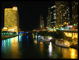 Chicago River at night ; comments:12