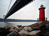 The Little Red Lighthouse and the Great Gray Bridge ; comments:30