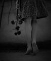 The girl with the dead, black roses. . . ; comments:26