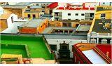 Фрагмент от град, мотив за черга, пъстър свят (Канарски острови, от Вера Киркова) ; comments:15