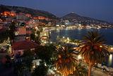 Поглед към вечерна Албания: Саранда ; comments:20