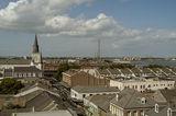 New Orleans, LA - Френският квартал с църквата St. Luis и река Мисисипи ; comments:48
