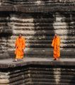 Monks, Angkor ; comments:42