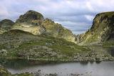 изглед към Орловец и Злия Зъб от Еленино Езеро ; Comments:14