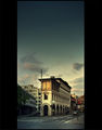 sunset street calmness ; Comments:12