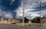 Piazza del Popolo - Rome ; comments:26