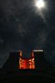 Шмидт-телескопа на Рожен в лунна нощ ; comments:12