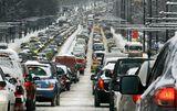 Сутрешен трафик след поредния сняг ; comments:29