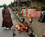 An African woman and African art ; comments:14