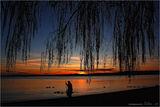 залез над езерото Болсена ; comments:38