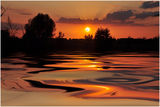 Залез над езерото ; comments:34