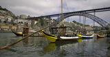 Порто - изглед към моста от реката ; comments:5