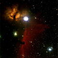 Мъглявините Конска глава и Пламък в съзвездие Орион ; comments:108