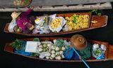 Floating Market, Bangkok, Thailand ; comments:3