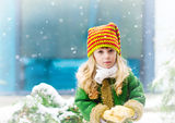 Мия и първият сняг:)) ; comments:109