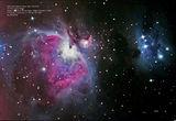 М42 Мъглявината в Орион ; comments:11