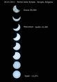 Частичното затъмнение от Бургас - 04.01.2011 ; comments:21