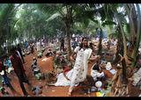 Празник в село близо до Ковалам, Южна Индия ; comments:30