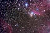 IC434 + Horsehead Nebula B33 + Flame Nebula NGC2024 + M78 ; comments:19