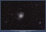 Галактиката M101 и приятели ; comments:9