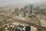 Дубай-видян от 124 ет на Бурж Халифа ; comments:49