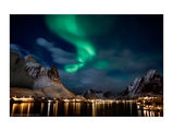 Аurora Borealis over the Lofoten Islands, Polar Norway 2011 ; comments:146