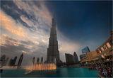 Танцуващите фонтани пред Бурж Халифа-Дубай ; comments:35
