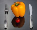 Етюд с чушка и домат ; comments:23