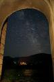 Силуета на Галактиката над Стария Преслав ; Comments:3
