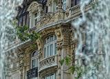 """Детайл от сградата на ул""""Леге"""" и """"Съборна"""", погледната през фонтана ; Коментари:21"""