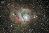 M8  Lagoon nebula ; comments:7