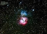 M20 Trifid nebula ; comments:5